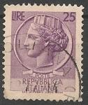 Sellos del Mundo : Europa : Italia : Moneda siracusana SC 630