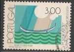 Sellos del Mundo : Europa : Portugal : Coastal Fishing Boats. SC 1351