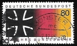 Stamps Germany -  30 years Federal Armed Forces