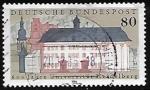Stamps Germany -  600th Anniv. of Heidelberg University