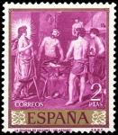 Sellos del Mundo : Europa : España : ESPAÑA SEGUNDO CENTENARIO NUEVO Nº 1246 ** 2P PURPURA VELAZQUEZ