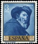 Sellos del Mundo : Europa : España : ESPAÑA SEGUNDO CENTENARIO NUEVO Nº 1247 ** 3P AZUL VELAZQUEZ