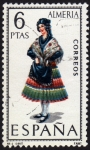 Stamps Europe - Spain -  RES-TRAJE REGIONAL FEMENINO – ALMERIA