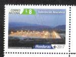 Stamps Honduras -  60 Años Iluminando Honduras