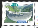 Sellos del Mundo : America : Honduras : 60 Años Iluminando Honduras