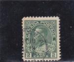 Sellos de America - Canadá -  rey George V