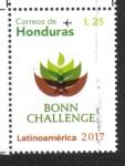 Stamps Honduras -  Bonn Challenge