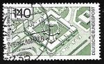 Stamps Germany -  Palais de l'Europe
