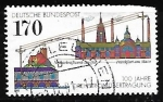 Stamps Germany -      Centenary of Three-phase Energy Transmission