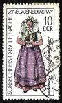 Sellos del Mundo : Europa : Alemania : Sorbian Historical Costumes