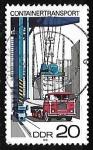 Sellos de Europa - Alemania -  Container Shipping