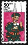 Stamps : Europe : Germany :  Theater Puppets