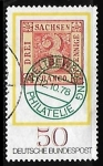 Sellos del Mundo : Europa : Alemania : First stamp from Saxony