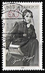 Stamps : Europe : Germany :  Birth Centenary of Agnes Miegel