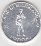 monedas de Europa - Italia -  David di Michelangelo