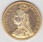 monedas de Europa - Reino Unido -  reina Victoria (anverso)