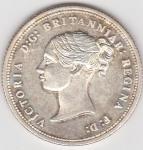 monedas de Europa - Reino Unido -  reina Victoria Regina (anverso)