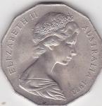 monedas del Mundo : Oceania : Australia :  Reina Elizabeth II