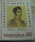 Stamps Venezuela -  Simón Bolívar Libertador y Padre de la Patria