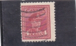 Stamps Canada -  rey George VI