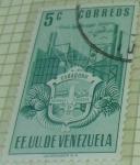 Sellos de America - Venezuela -  EEUU de Venezuela Carabobo