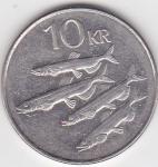 monedas del Mundo : Europa : Islandia :  f reverso