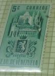 Sellos de America - Venezuela -  EEUU de Venezuela Caracas DF