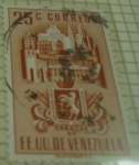 Stamps America - Venezuela -  EEUU de Venezuela Caracas DF