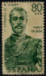 Sellos de Europa - España -  ESPAÑA_SCOTT 947 PONCE DE LEON. $0,2