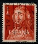 Stamps Spain -  ESPAÑA_SCOTT 971 MORATIN POR GOYA. $0,2