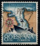 Stamps Spain -  ESPAÑA_SCOTT 993 25º ANIV ALZAMIENTO NACIONAL. $0,2