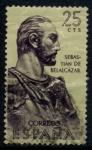Stamps Spain -  ESPAÑA_SCOTT 1013 SEBASTIAN DE BELALCAZAR. $0,2