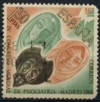 Sellos del Mundo : Europa : España : ESPAÑA_SCOTT 1373.02 4º CONGRESO MUNDIAL DE PSIQUIATRIA EN MADRID. $0,2