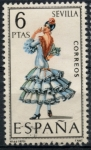 Stamps Spain -  ESPAÑA_SCOTT 1435.02 TRAJE TIPICO SEVILLA. $0,2