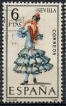 de Europa - España -  ESPAÑA_SCOTT 1435.05 TRAJE TIPICO SEVILLA. $0,2