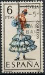 Sellos del Mundo : Europa : España : ESPAÑA_SCOTT 1435.06 TRAJE TIPICO SEVILLA. $0,2