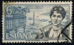 de Europa - España -  ESPAÑA_SCOTT 1525 ROSALIA DE CASTRO. $0,2