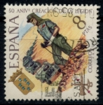 de Europa - España -  ESPAÑA_SCOTT 1688 50º ANIV CREACION LEGION. $0,3