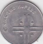 monedas del Mundo : Asia : India :  i anverso