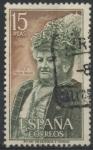 Stamps Spain -  ESPAÑA_SCOTT 1698 EMILIA PARDO BAZAN. $0,2