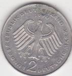 monedas del Mundo : Europa : Alemania :  l reverso