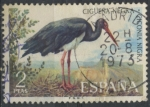 Sellos del Mundo : Europa : España : ESPAÑA_SCOTT 1762 CIGÜEÑA NEGRA. $0,2