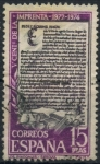 Sellos del Mundo : Europa : España : ESPAÑA_SCOTT 1793.01 5º CENT IMPRENTA. $0,2