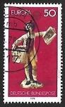 Stamps Germany -  Europa- servicios postales