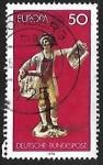 Sellos de Europa - Alemania -  Europa- servicios postales