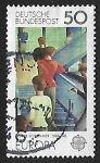 Sellos de Europa - Alemania -  Europa - servicios postales