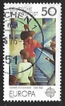 Stamps Germany -  Europa - servicios postales