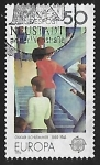 Stamps : Europe : Germany :  Europa - servicios postales