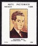 Sellos de America - México -  ARTE PICTÓRICO -Antonio Ruiz