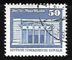 Stamps Germany -  New guard, Berlin